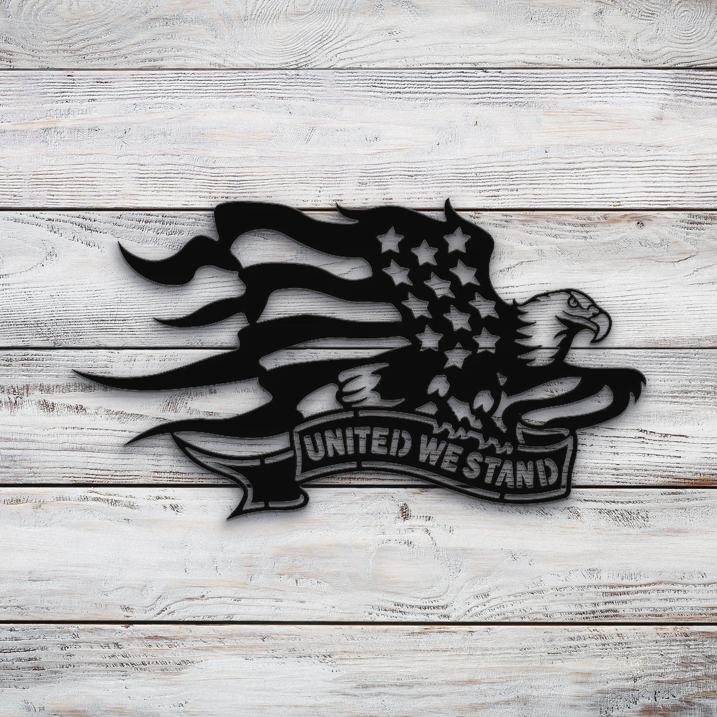 United We Stand | Blue Hippo Metal Art