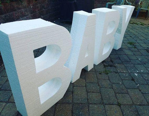 Jumbo Foam Letters | Blue Hippo Metal Art