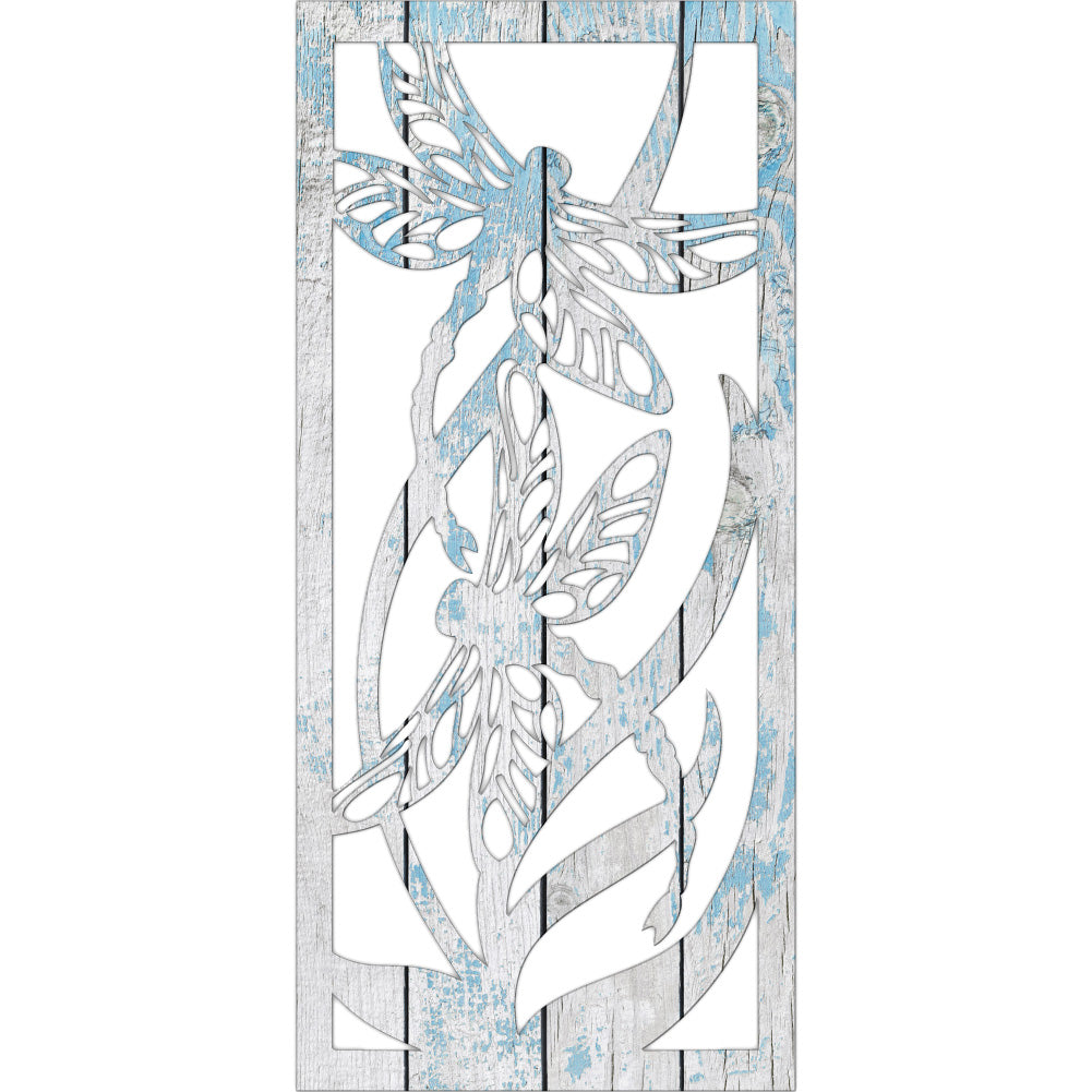 Dragonflies | Blue Hippo Metal Art