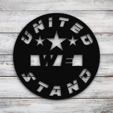 Load image into Gallery viewer, United we stand circle | Blue Hippo Metal Art