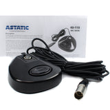 CAD Astatic Desk Top Microphone No Mute Base