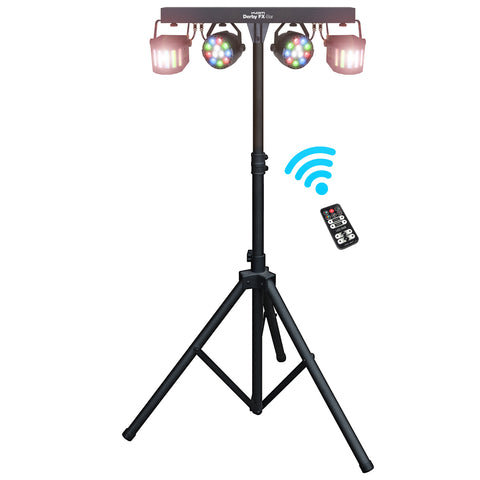 KAM Derby Effects Bar inc. 4 Lights/Stand