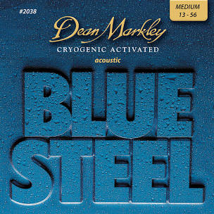 Dean Markley Blue Steel™ Acoustic Guitar Strings - MEDIUM 13 - 56