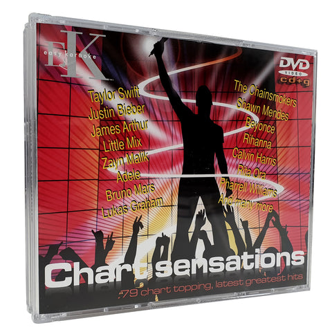Easy Karaoke - Chart Sensations 5 Disc Set