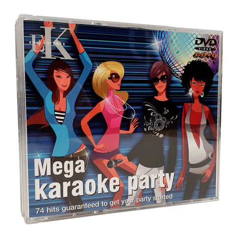 Easy Karaoke - Mega Karaoke Party 4 Disc Set + Bonus Disc