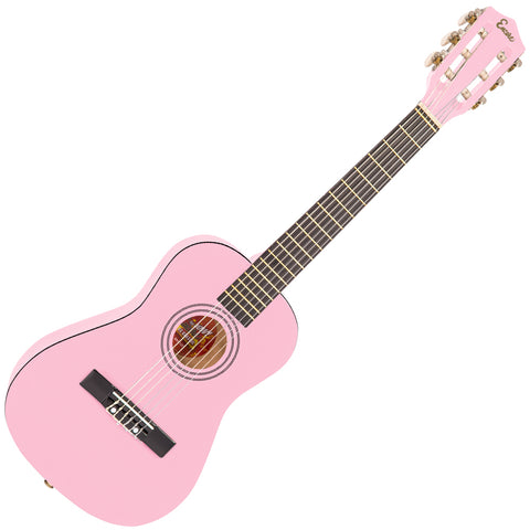 Encore 1/2 Size Junior Acoustic Guitar Pack ~ Pink