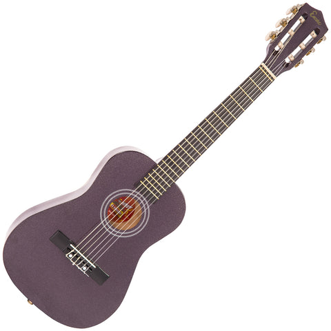 Encore 1/2 Size Junior Acoustic Guitar Pack ~ Metallic Purple