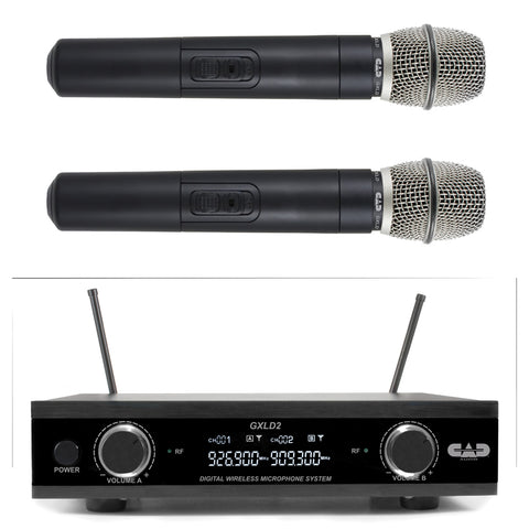 CAD GXLD2 Digital Dual Microphone Wireless System - AI Frequency Band