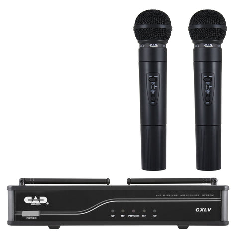 CAD GXLV VHF Dual Microphone Wireless System - J Frequency Band