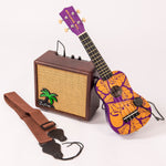 Kustom Ukulele Battery Powered Amp Package ~ 10W w/Straps & Piezo Pickup