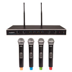 Kam Quartet Eco Wireless Microphone System - 4 Mics / 1 Receiver