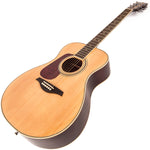 Vintage V300 Acoustic Folk Guitar ~ Natural ~ Left Hand