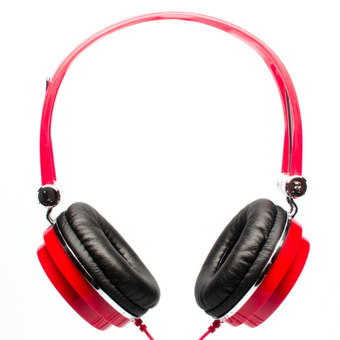 CAD Sessions 100 Studio Headphones ~ Red