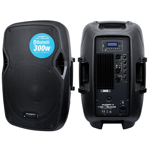 Kam Active Speaker with Bluetooth - 300w