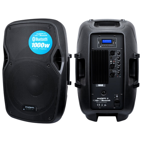 "KAM 12"" Active Speaker with Bluetooth ~ 1000w"