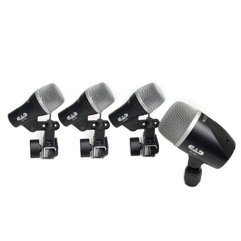 CAD 4 Piece Drum Microphone Pack