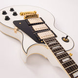 Vintage V1003 ReIssued 3 Pickup Electric Guitar ~ Arctic White