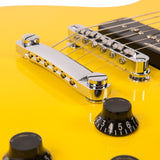 Vintage V132 ReIssued Electric Guitar ~ TV Yellow
