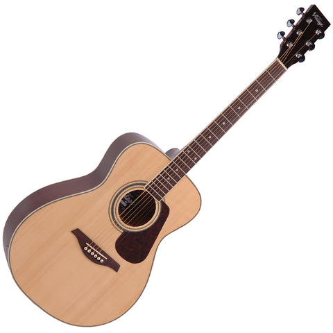 Vintage V300 Acoustic Folk Guitar Outfit ~ Natural