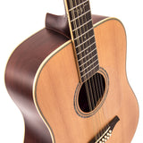 Vintage V501 12-String Acoustic Dreadnought ~ Satin Natural