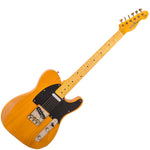Vintage V52 ICON Electric Guitar ~ Distressed Butterscotch