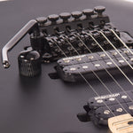 Vintage V624 ReIssued Floyd Rose Electric Guitar ~ Satin Black