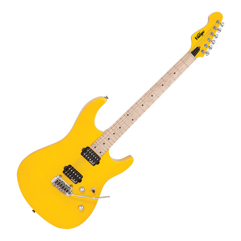 Vintage V6M24 ReIssued Electric Guitar ~ Daytona Yellow
