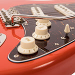Vintage V6M ReIssued Electric Guitar ~ Firenza Red