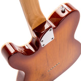 Vintage V72H Custom Spec Hardtail ~ Flame Tobacco  Burst