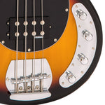 Vintage V96 ReIssued 4-String Active Bass ~ Sunset Sunburst