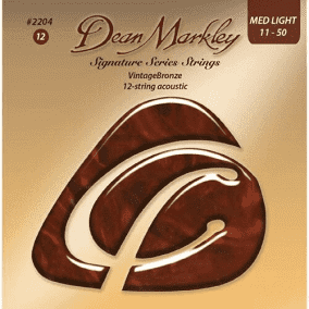 Dean Markley VintageBronze™ Signature Series Acoustic Guitar Strings - MED LIGHT 11 - 50
