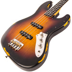 Vintage VJ74 ICON Bass ~ Distressed Sunset Sunburst