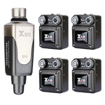 Xvive In-Ear Monitor Wireless System with 4 Receivers