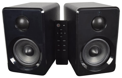 Active Bluetooth Bookshelf Speakers