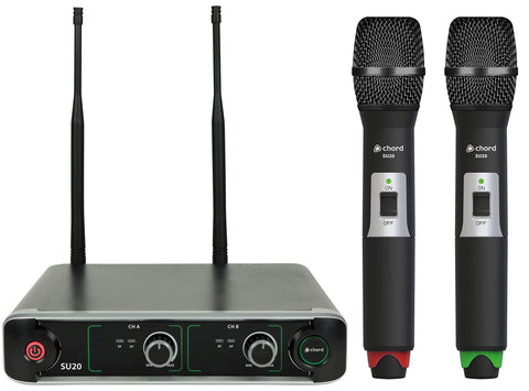Chord SU20 Compact Dual Microphone System