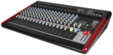 Citronic CSX-18 Series Live Mixing Console with Bluetooth DSP FX + usb media player / recorder