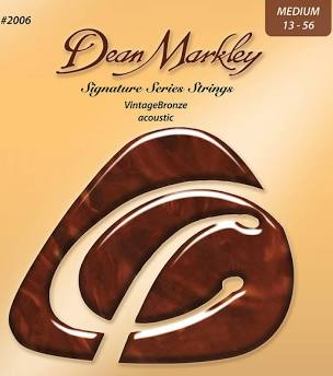 Dean Markley VintageBronze™ Signature Series Acoustic Guitar Strings - MEDIUM 13 - 56