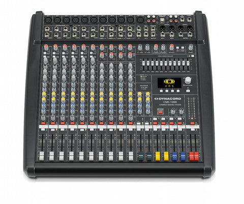 Dynacord CMS1000-3  Unpowered mixer with high quality vocal effects.