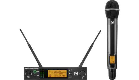 Electro Voice Premium quality handheld Wireless Vocal Microphone System