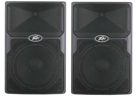 ONE PAIR of PEAVEY PVX-P12 830watt powered speakers with 5 YEAR WARRANTY !