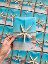 Load image into Gallery viewer, Starfish wedding invitations