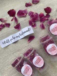 Confetti pop bridesmaid proposal