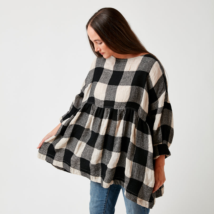Ichi Plaid Tunic