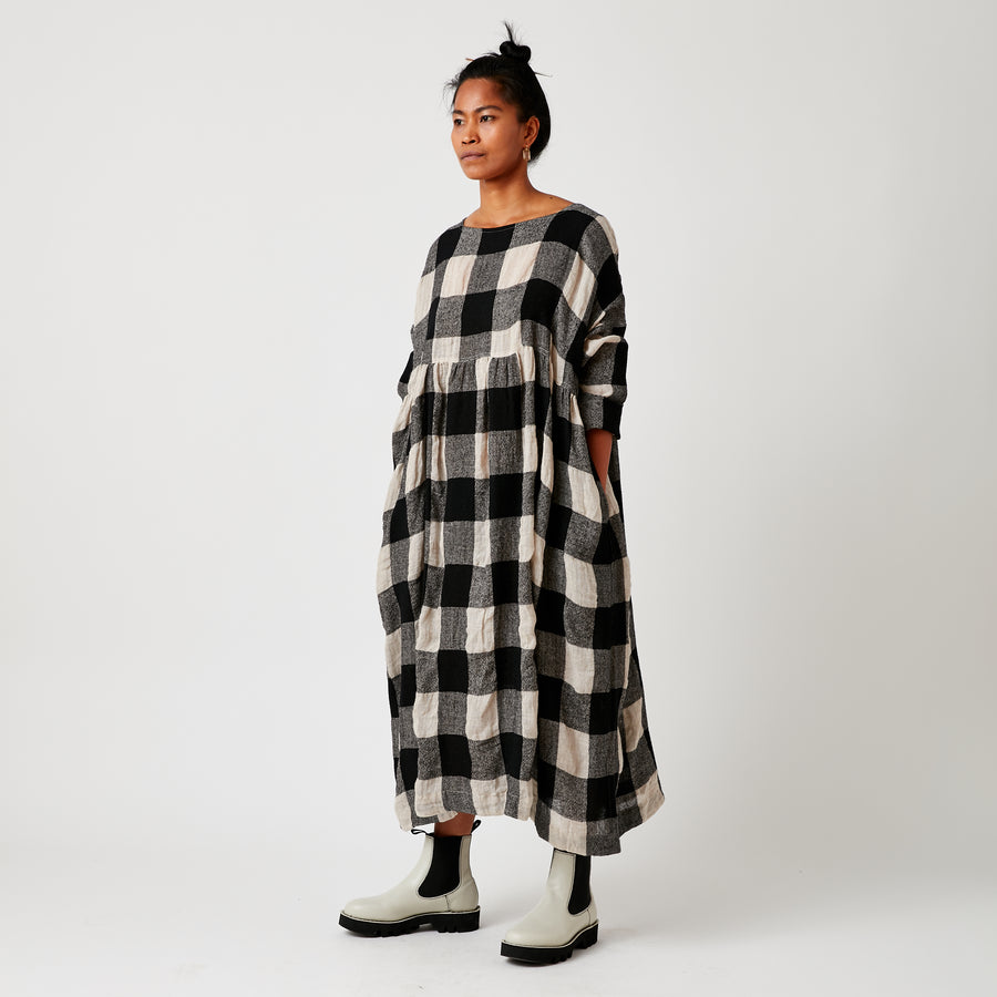 Ichi Check Dress