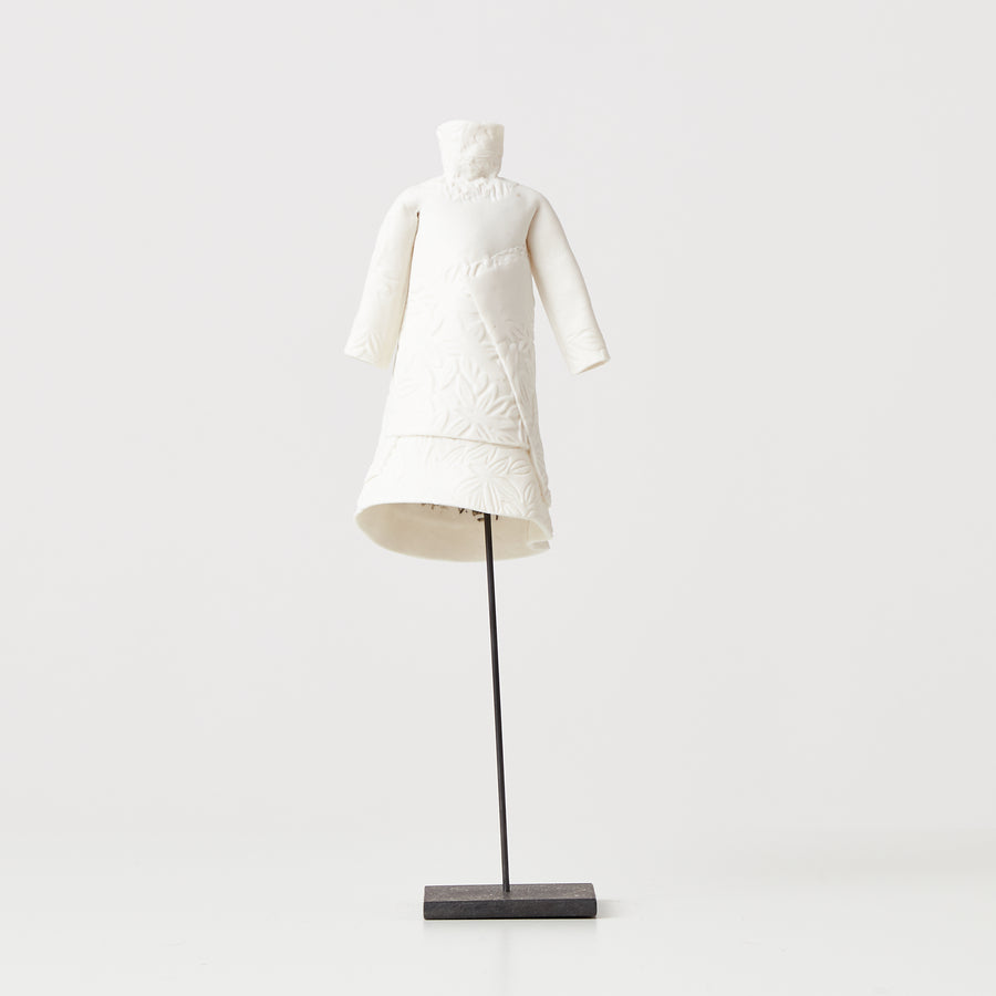 White Porcelain Dress | 047