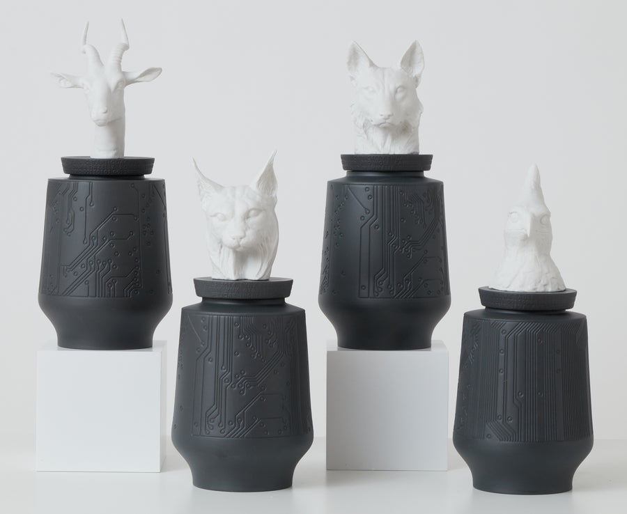Porcelain Animal Vessels