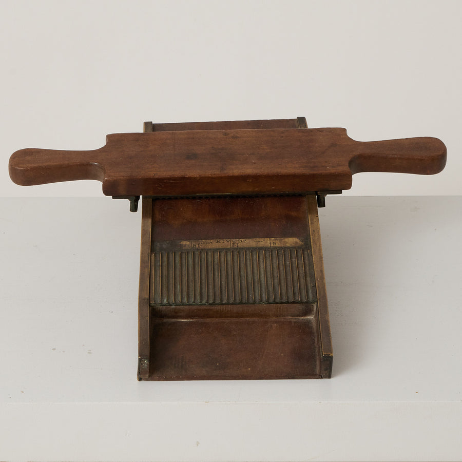 Antique Pill Counter