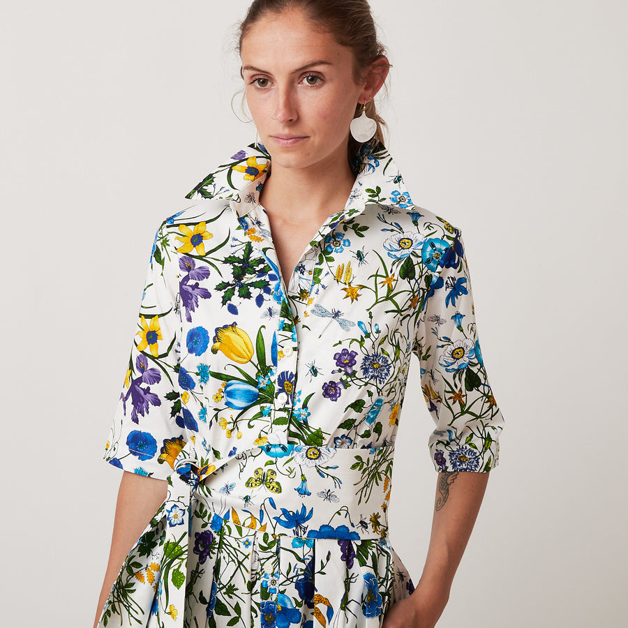 Samantha Sung Audrey Botanical Dress