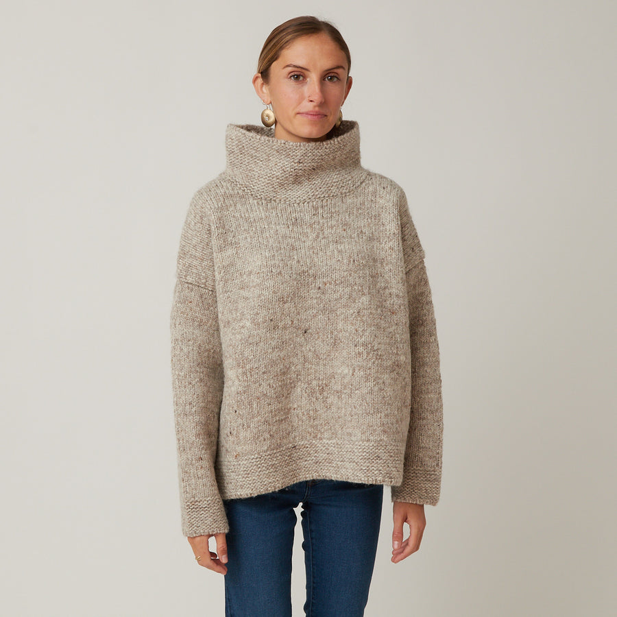Ichi Antiquities Wool Pullover