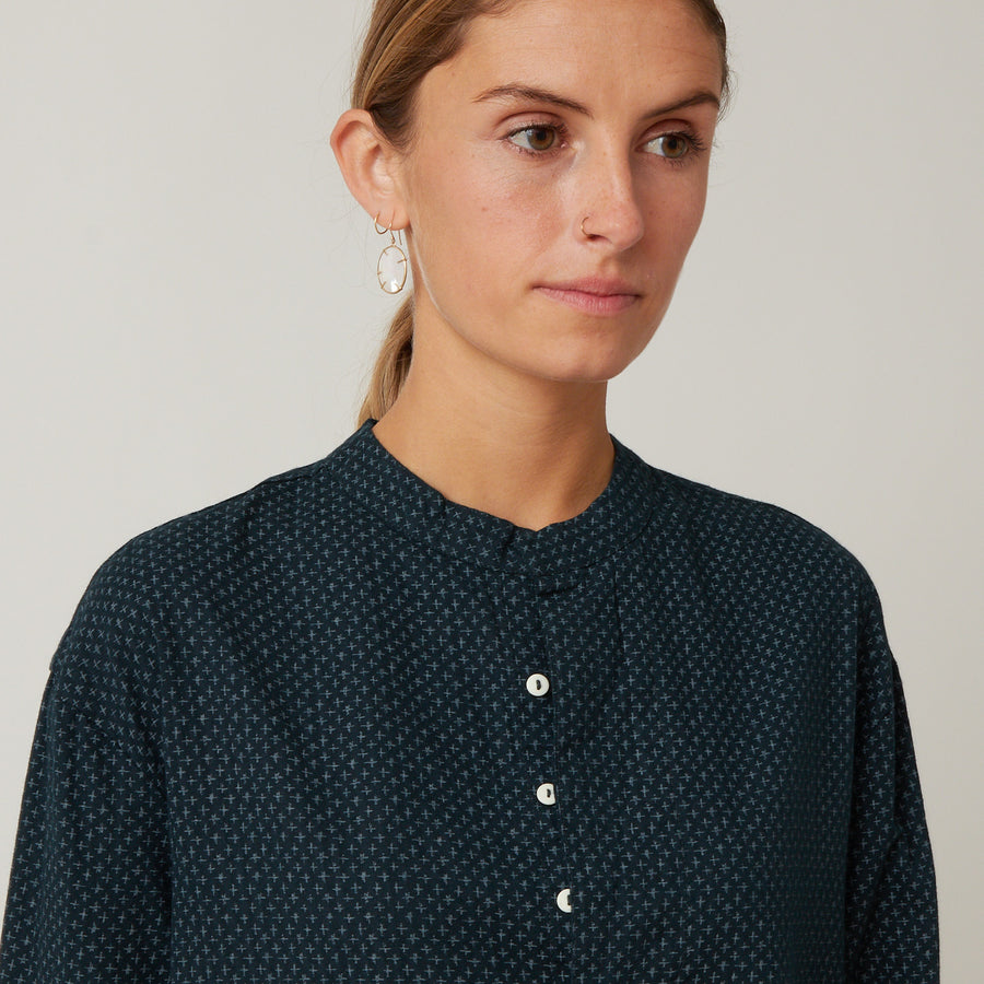 Domi Crosshatch Nightshirt